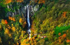 Famous waterfalls of Iran