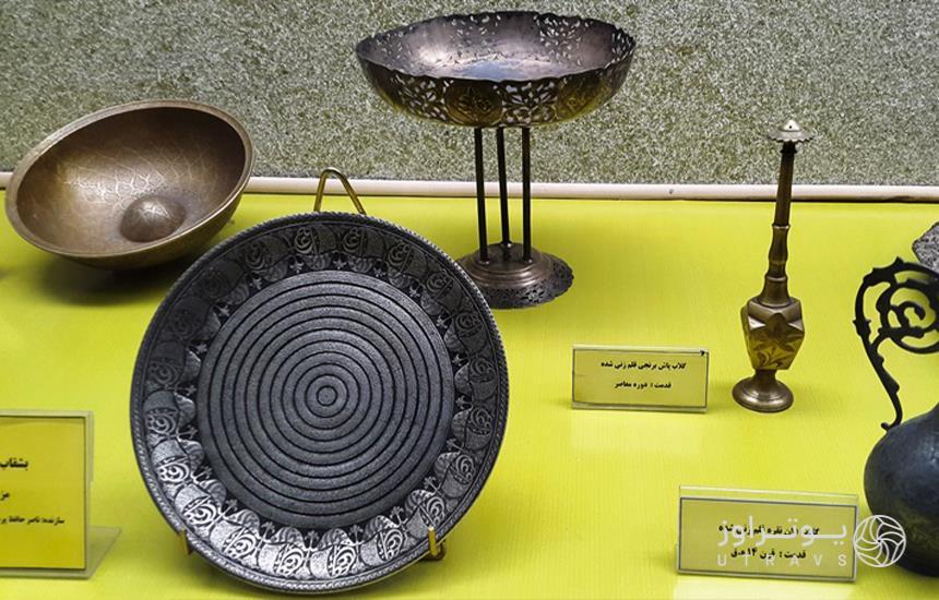 image of astan qods museum of mashhad