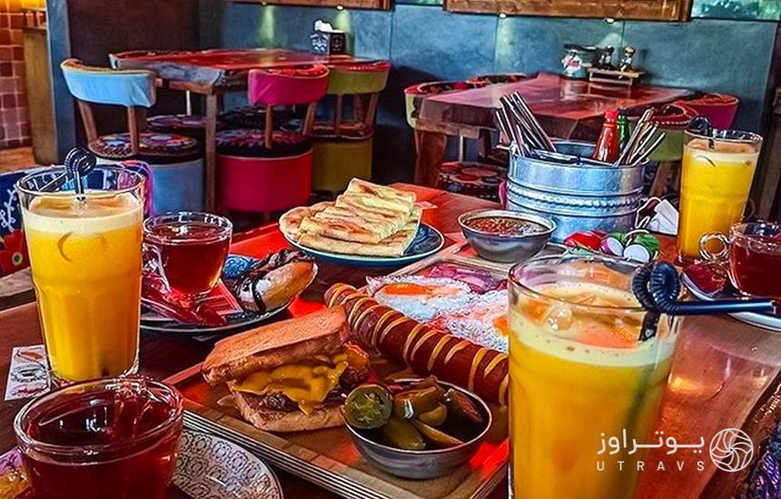 menu of cofe kiosk