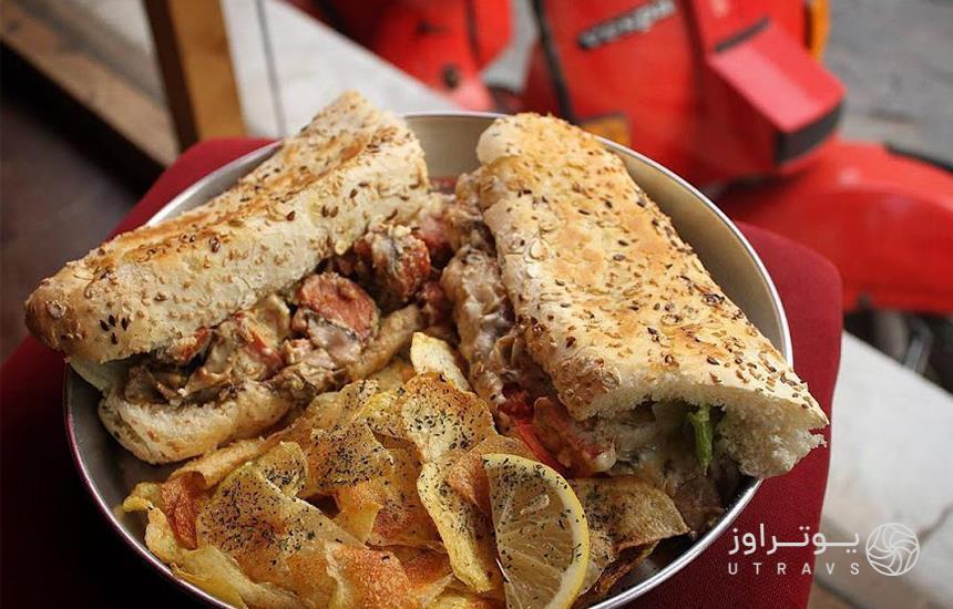 Vespa Food Mashhad