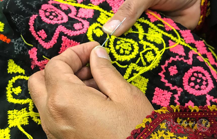 needlework souvenir of sistan