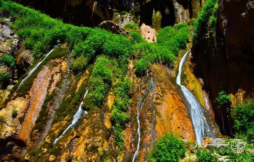 Akhlamd waterfall