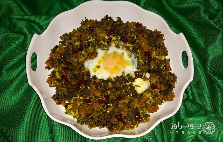 Local food of Garsmasar village