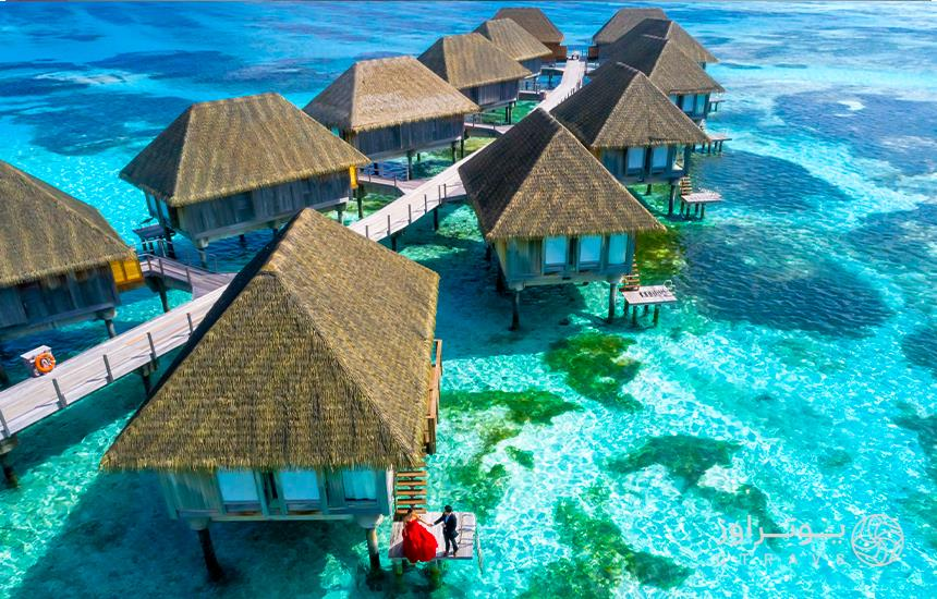 hotels on the water in Maldives