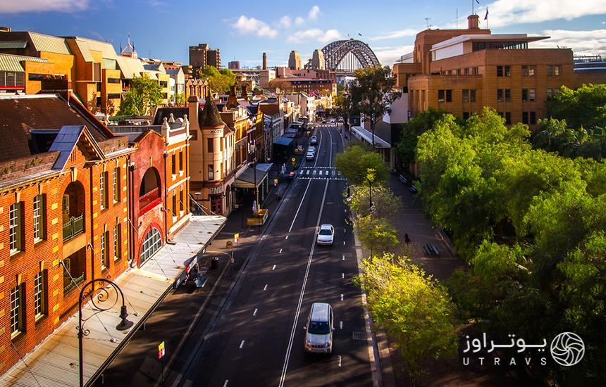 Sydney The Rocks Alley