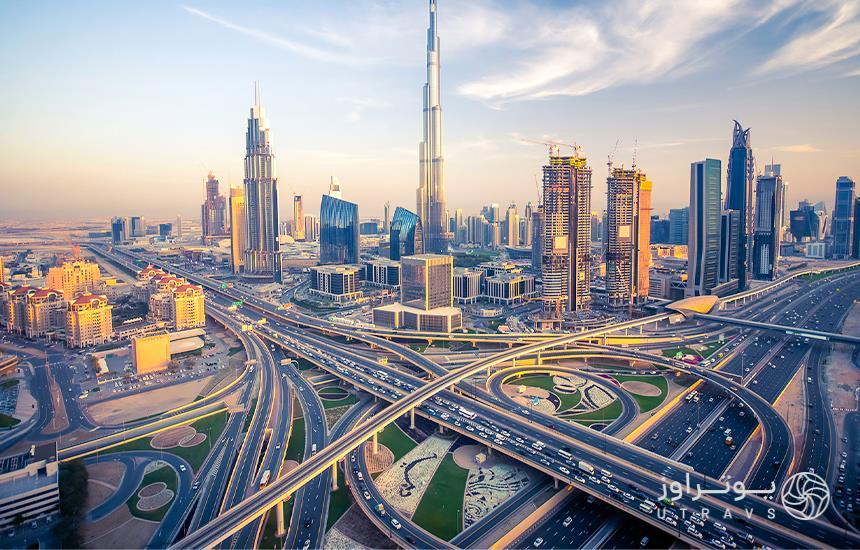 Dubai luxury city