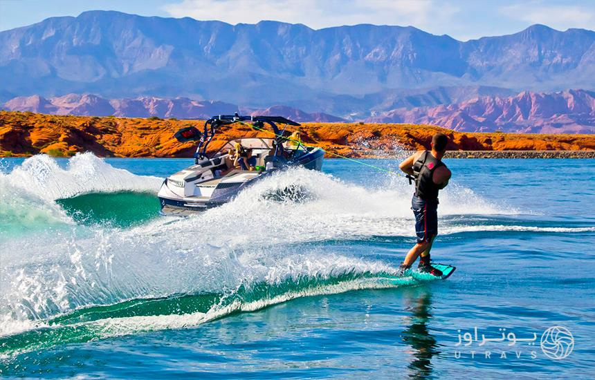 Surfing in Chabahar