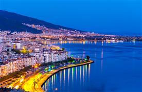 Izmir coastal city