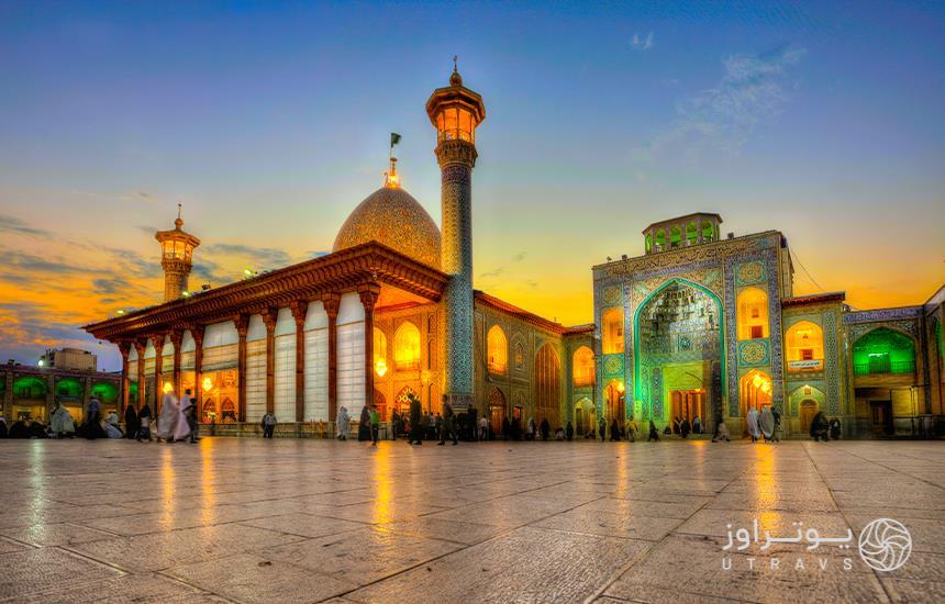 Shahcheragh, most beautiful shrine of Shiraz