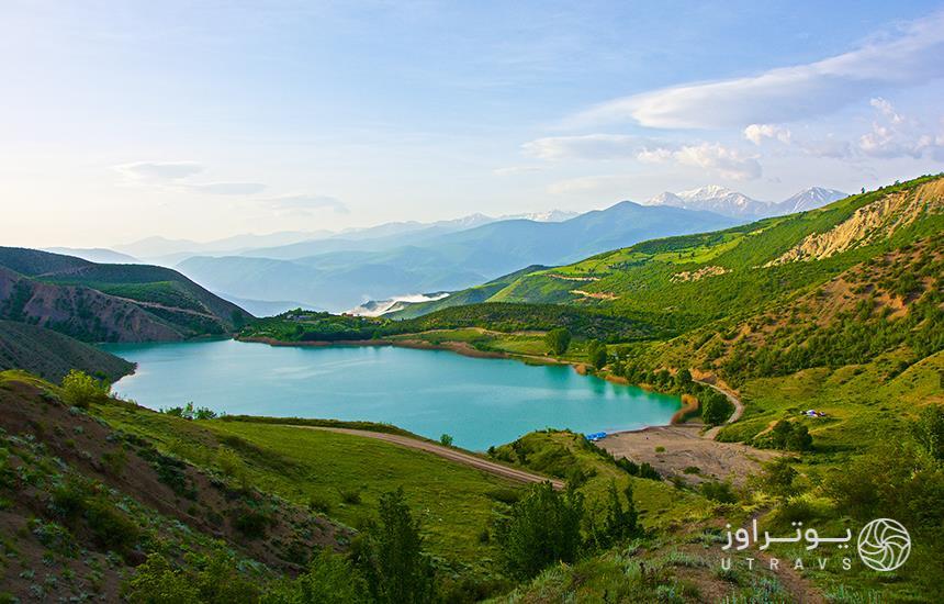 Velesht;beautiful lake in Chalous heights
