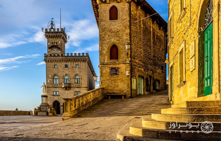 San Marino, a small country in the heart of Europe