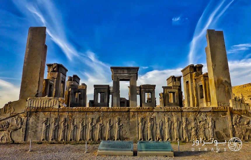 glory of ancient Iranian civilization in Persepolis
