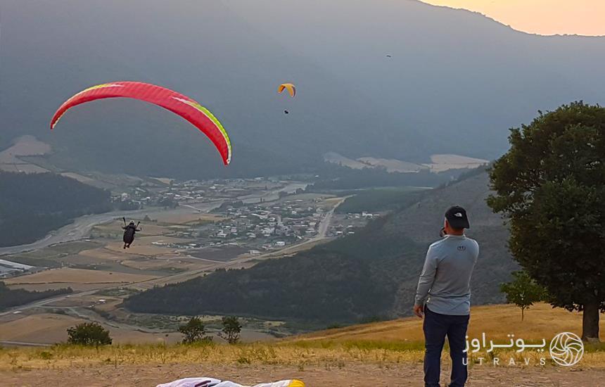 paraglider in Mashhad