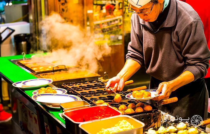 Tokyo streets food