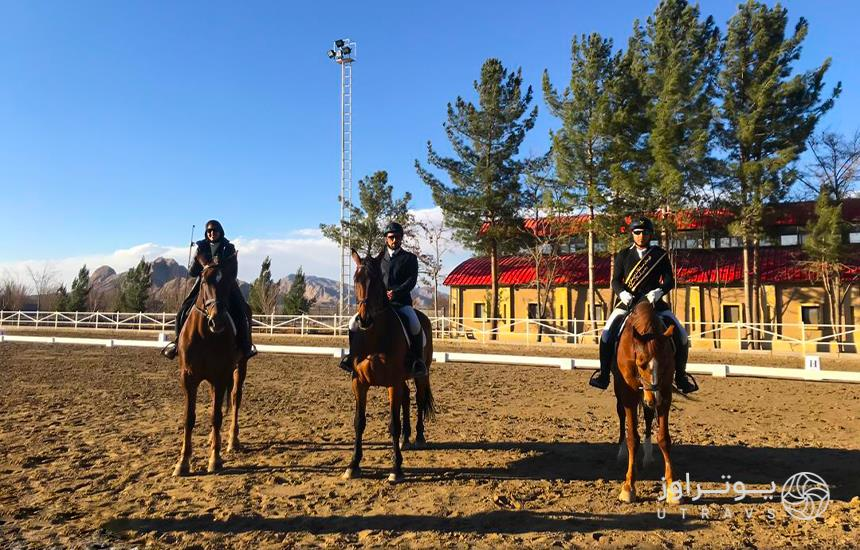 Equestrian in Isfahan