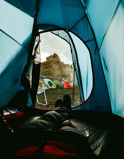 Tent suitable for Nature tourism