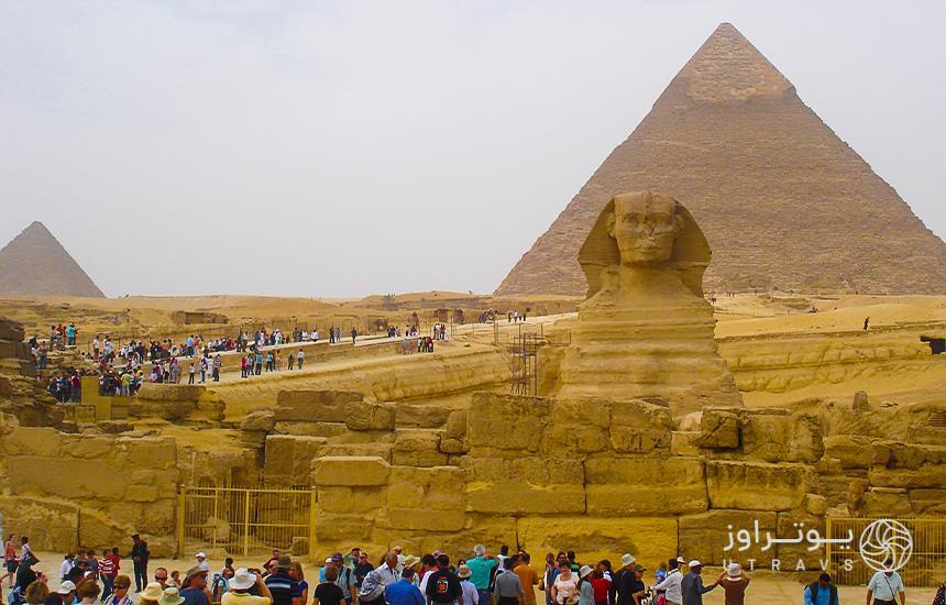 Sphinx and Giza Necropolis