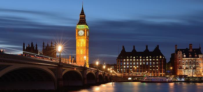 Tower Big Ben In Night